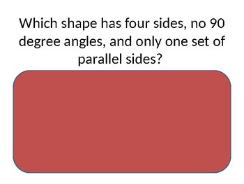 Shape Recognition Quiz (for the intermediate grades)