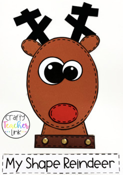 Shape Reindeer Craft