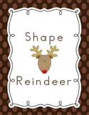 Shape Reindeer Craftivity