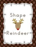 Shape Reindeer Craftivity