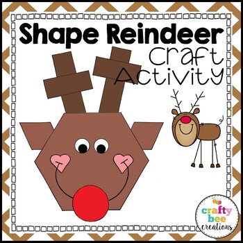 Shape Craft {Reindeer}