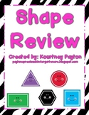 Shape Review - Circle, Square, Rectangle, Triangle, Hexagon K.G.2