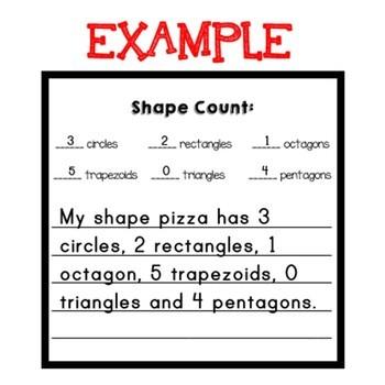 Shape Review: Shape Pizzas!
