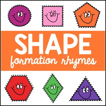 Shape Rhymes & Shape Booklets
