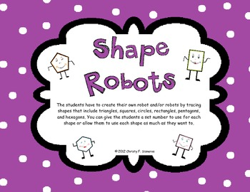 Shape Robots Great w/ CCGPS Unit 3