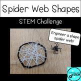 Shape STEM Challenge - Spider Web Shapes