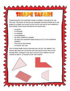 Shape Safari - A Review of Area