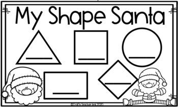 Shape Santa Craft