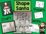 Shape Santa Craftivity