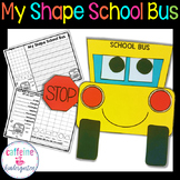 Shape School Bus - Back to School Math Craft