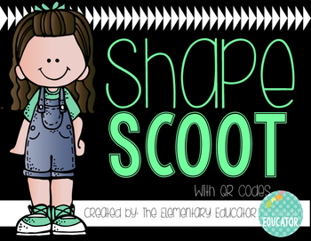 Shape Scoot w/QR Codes