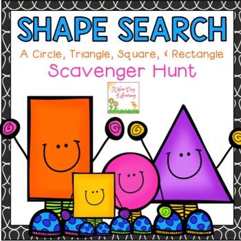 Shape Search: A Circle, Triangle, Square & Rectangle Scave