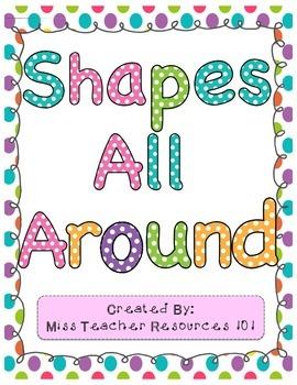 Shape Search Center! (2-D Shapes)
