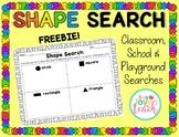 Shape Search/ Hunt Freebie