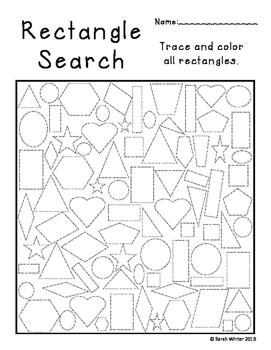 Shape Searches ~ FREEBIE!