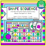 Shape Sequence - An Early Elementary Shape Recognition Board Game