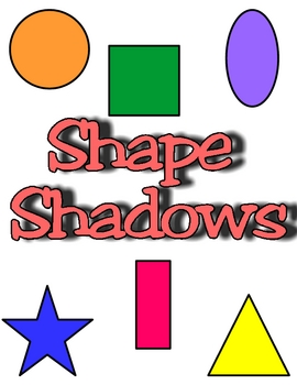 Shape Shadows Shape Matching Center Game