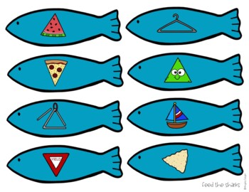 Shape Sharks: 2-D Shape Activities