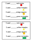 Shape Sheet for Shape Pictures