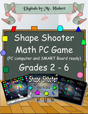 Shape Shooter, A safe and fun math video game to practice shapes (Full Version)