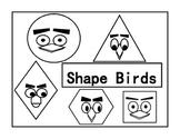 Shape, Sides and Angles - Shape Birds