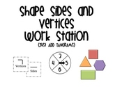 Shape Sides and Vertices Work Station