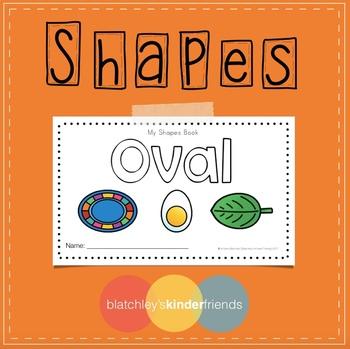 Shape Sight Word Books - OVAL