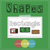 Shape Sight Word Books - RECTANGLE