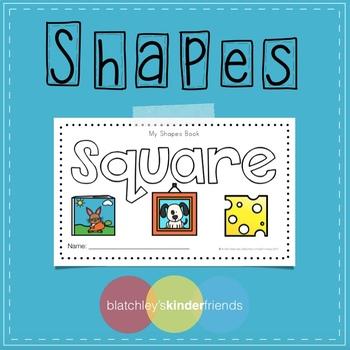 Shape Sight Word Books - SQUARE