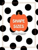 Shape Sizes (Fall)