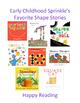 Shape Snack--preschool & kindergarten