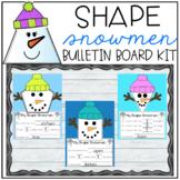 Shape Snowman Bulletin Board Kit