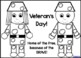 Shape Soldier Craftivity {Veterans Day} Graph and Writing