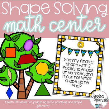 Shape Solving: A Math Center for Practicing Word Problems using Geometry