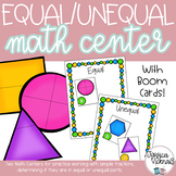 Equal Unequal: Two Math Centers for Practice Working with Simple Fractions