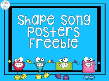 Shape Song Posters
