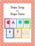 Shape Songs and Game