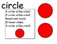 Shape Songs for Circle Time