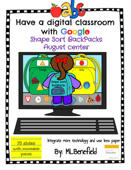 Shape Sort Backpacks - August Center (in Google: Digital and Interactive)