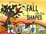 Fall Shape Sort Preschool