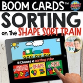 Shape Sorting Train Boom Cards™