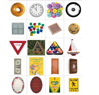 Shape Sort and Response - Two Dimensionsl Shape Center Activity
