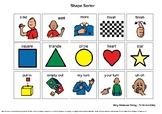 Shape Sorter - Aided Language Board