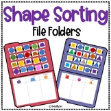 Shape Sorting (2D) File Folders