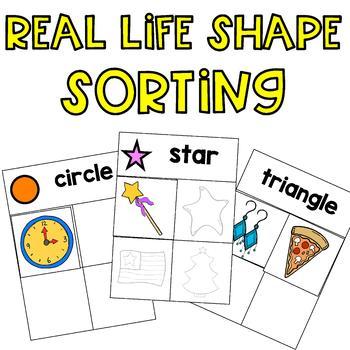 Shape Sorting: 2D Real Life Shapes