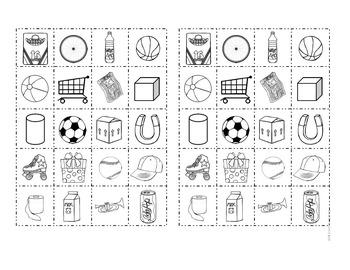 Shape Sorting Math Activities for Kindergarten and 1st Grade