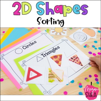 Shape Sorting Activity for Kindergarten