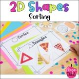 Shape Sorting Activity for Kindergarten