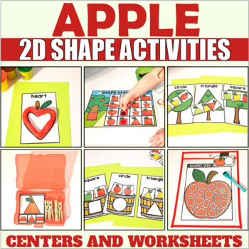 Shape Sorting Center with Apples