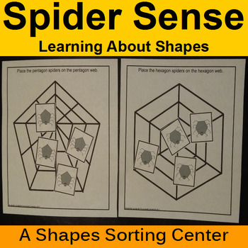 Shape Sorting Center with Spiders